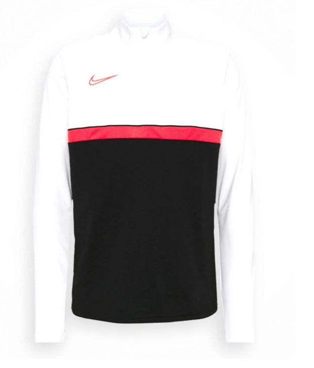 Wit/zwarte Nike top - CW6110-016