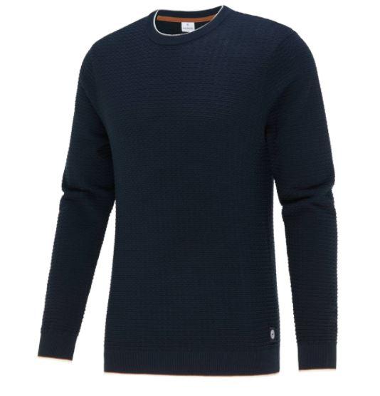Donkerblauwe heren trui Blue Industry - KBIW21-M4 navy