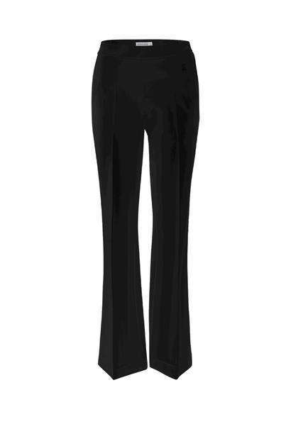 Zwarte dames broek Summum - 4S2197-990 black