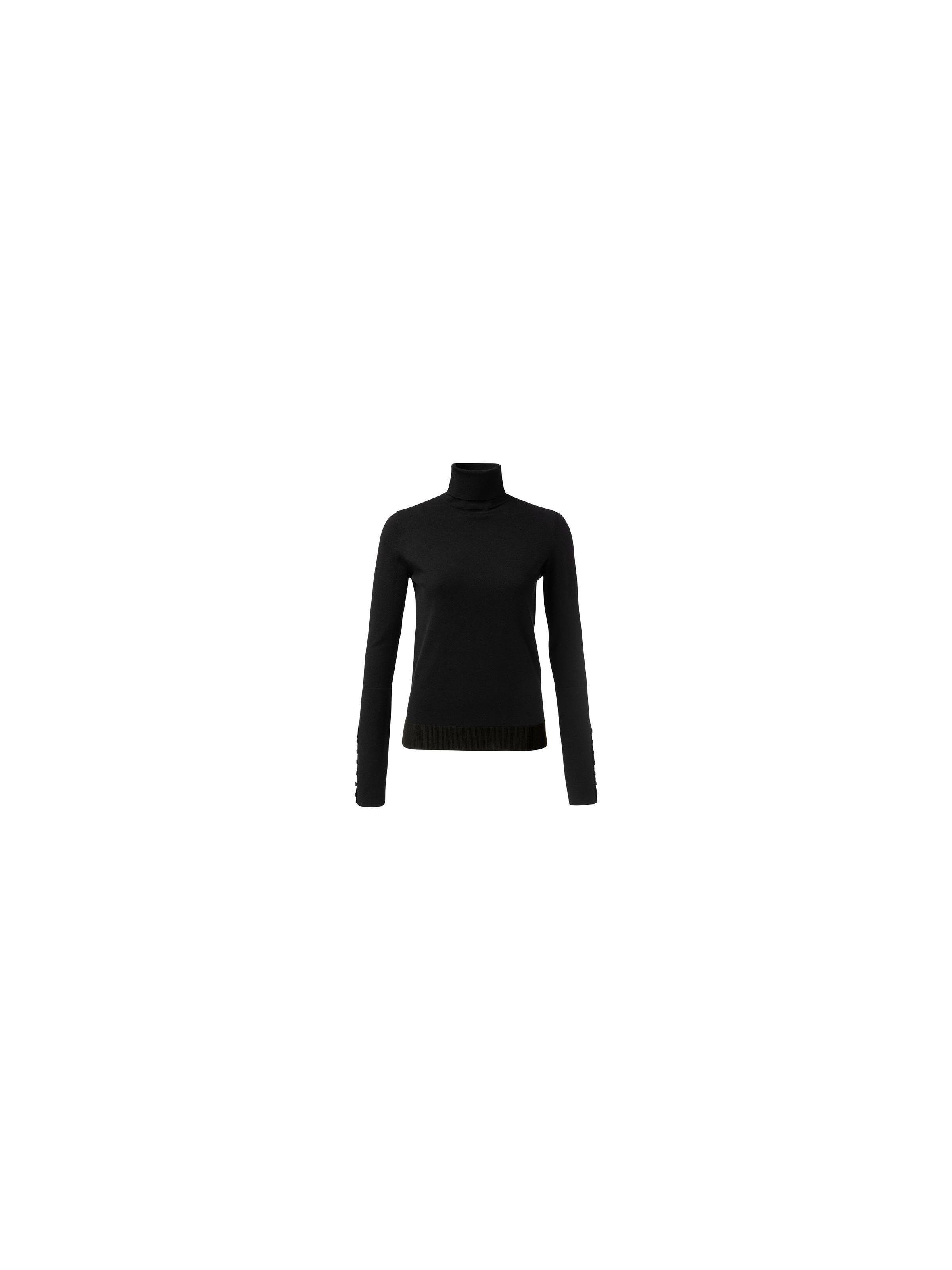 Zwarte dames trui Yaya - 1000216-122