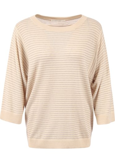 Beige dames sweater YAYA - 1000478-122