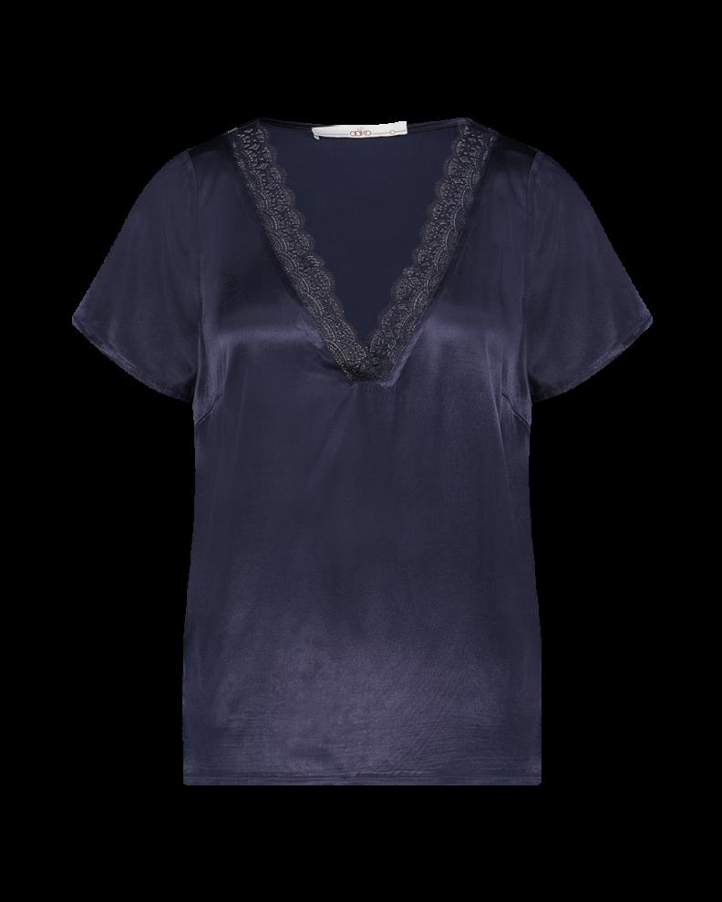 Blauwe dames top Aaiko - Valany 193923 dark navy