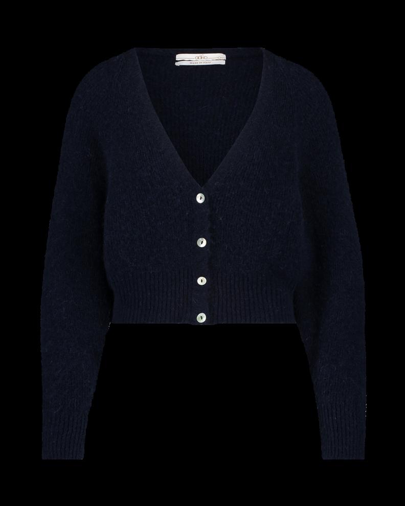 Donkerblauw dames vest Aaiko -  Marani 193923 dark navy
