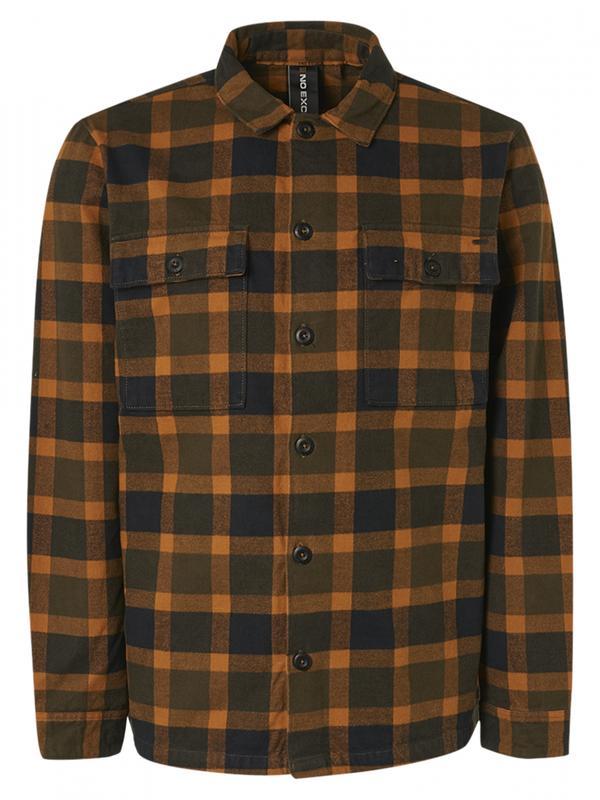 Geel heren overshirt No Excess - 12430820-020