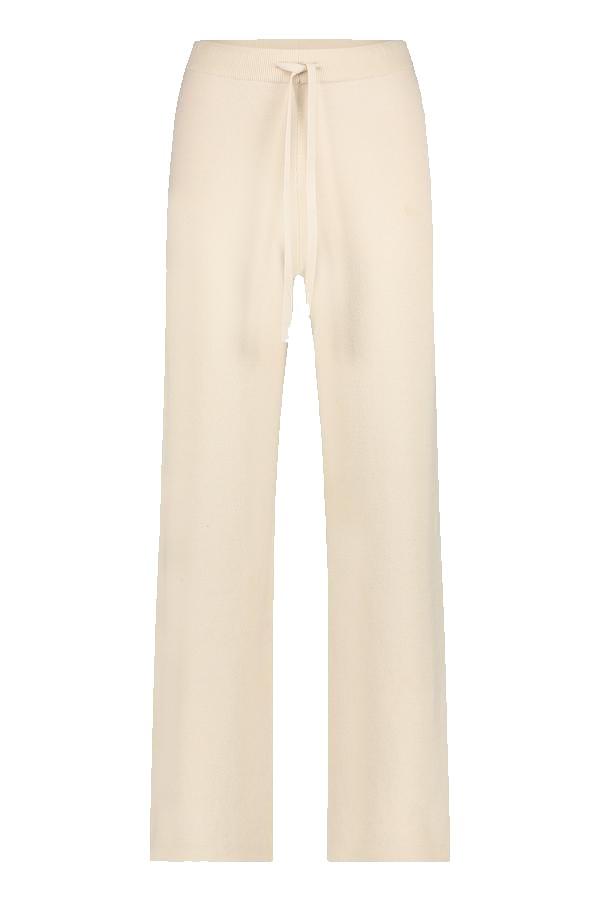 Zandkleurige dames broek Penn&Ink - W21B121 79 kit