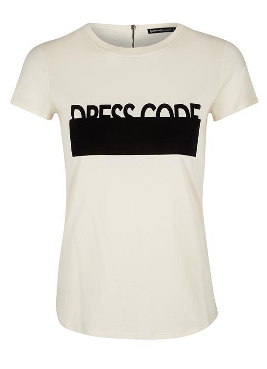 Creme dames shirt Summum - 3S3917-3784B
