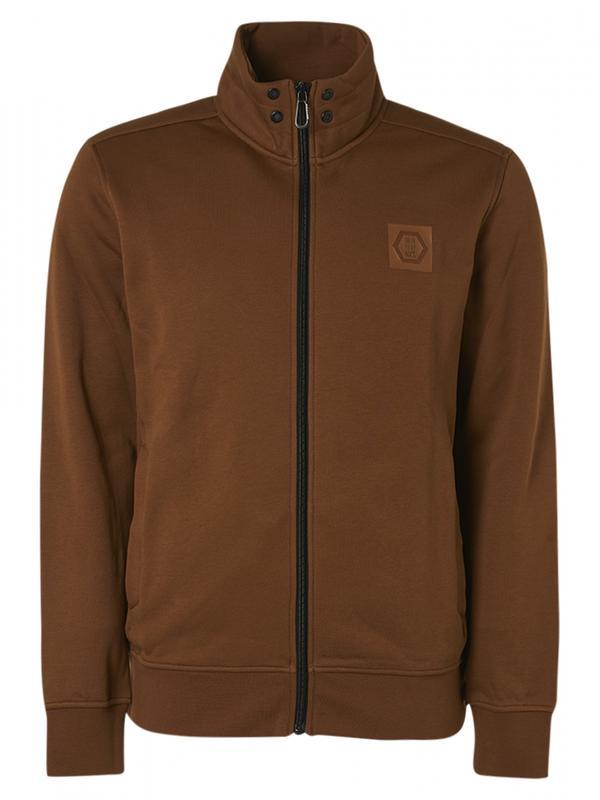 Bruin heren vest No Excess - 12100808-152 moss