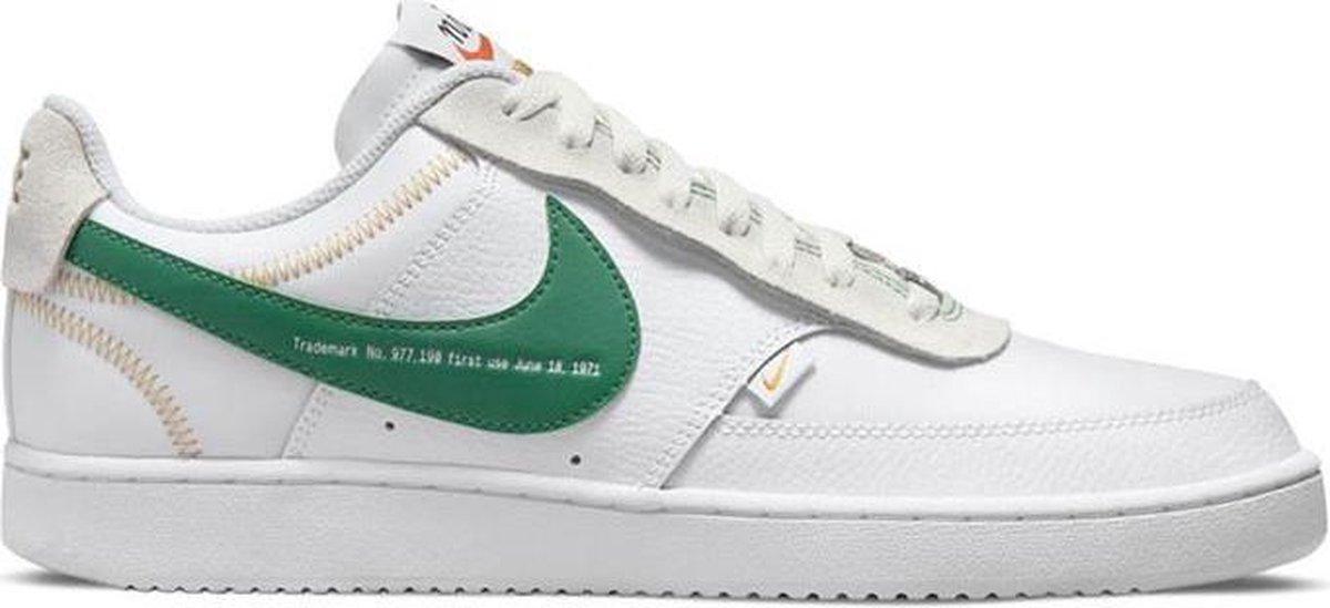 Witte heren sneakers Nike Court Vision Lo Prem - DJ2001-100