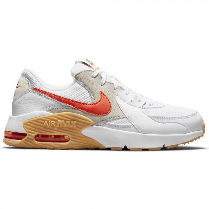 Wit/oranje heren sneakers Nike Air Max Excee - DJ2000-100