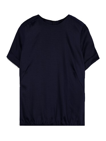 Donkerblauwe dames top Summum - 2S2652-496