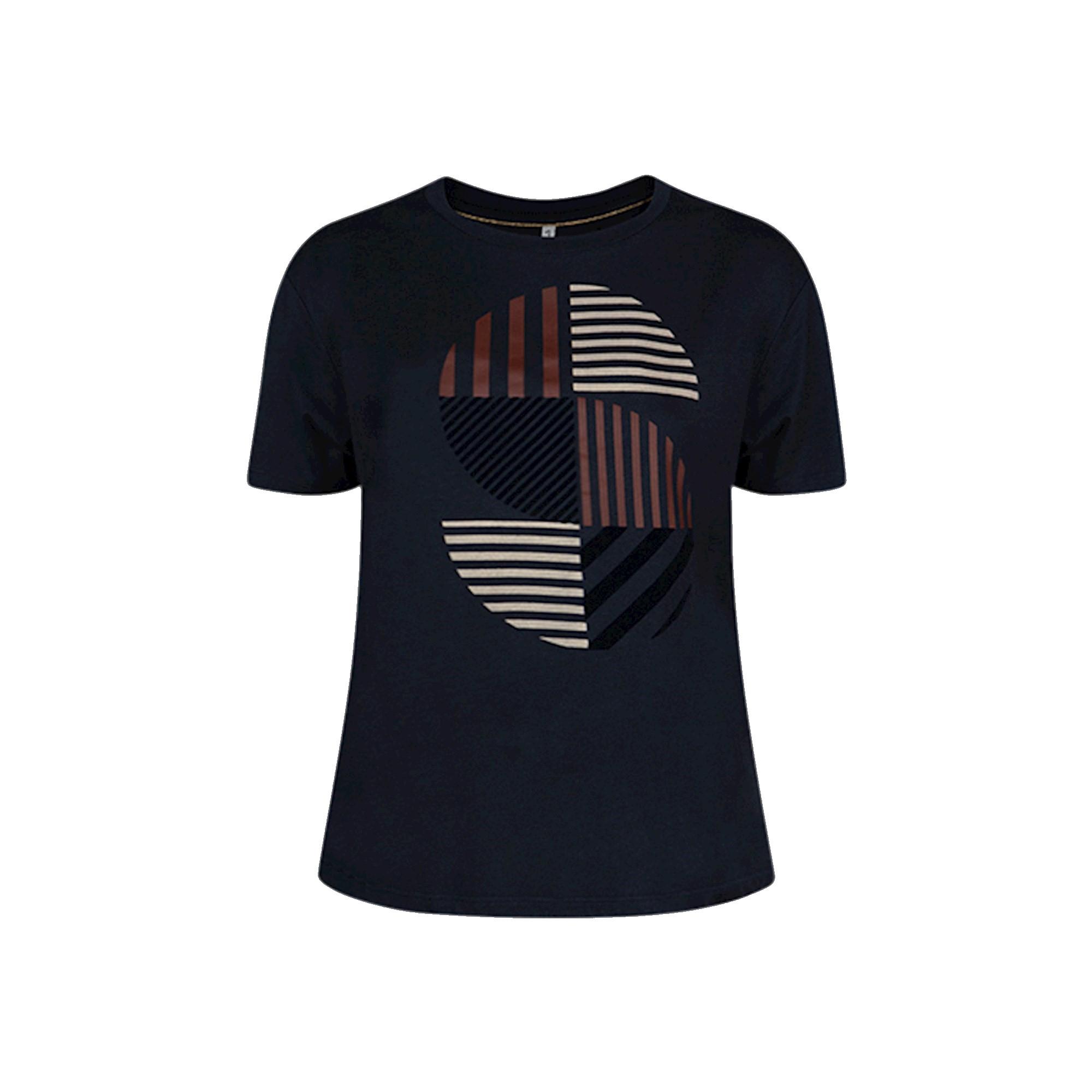 Donkerblauw dames t-shirt Summum - 3S4586-000496 navy