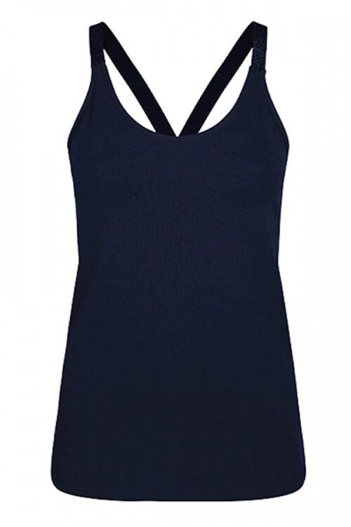 Donkerblauwe dames top Summum - 3S4483-000496 navy