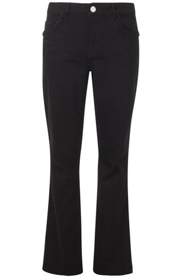 Zwarte dames broek Mos Mosh - Ashley Braid sharp 141582-801