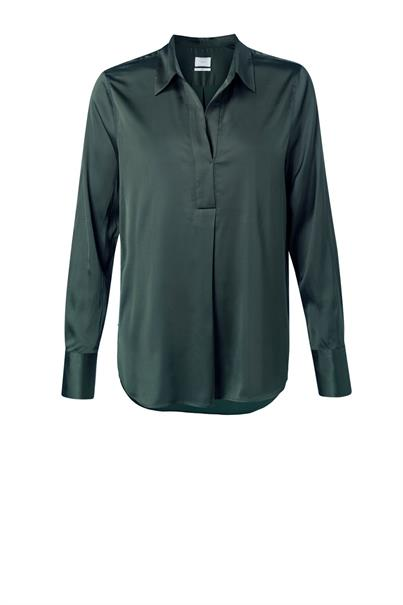 Groene dames blouse Yaya - 1101199-123 95212