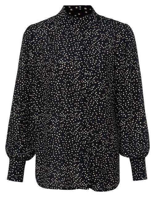 Zwarte dames blouse YAYA - 1101251-123 942031