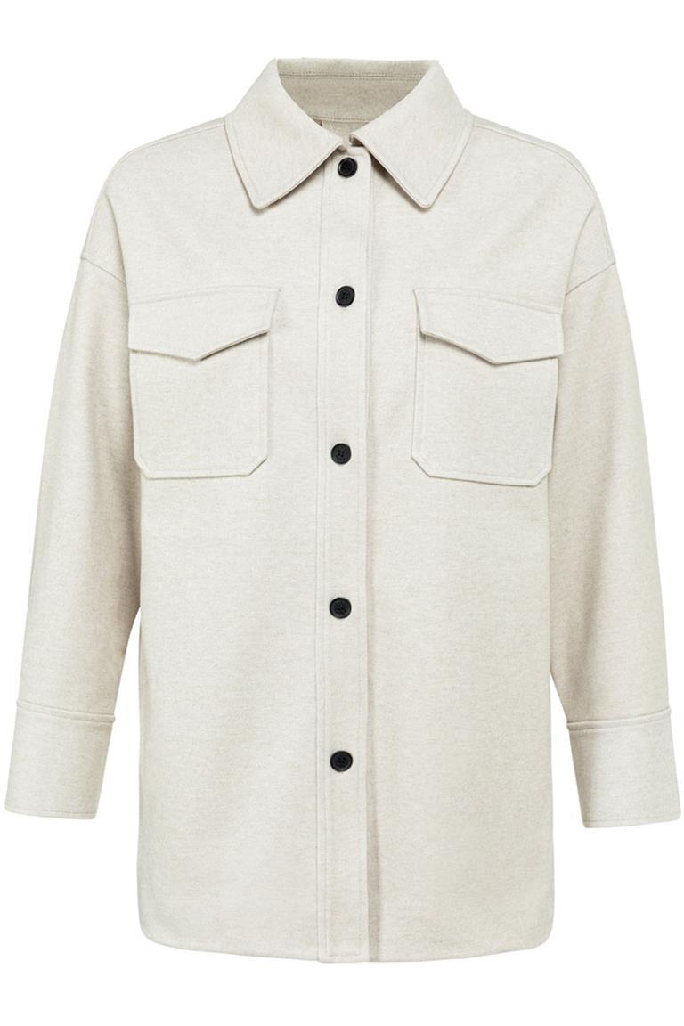 Witte dames jas YAYA - 1519035-122 304002