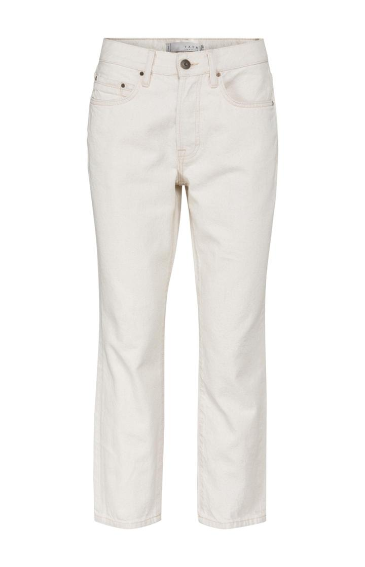 Witte dames jeans YAYA - 1201171-123 10602