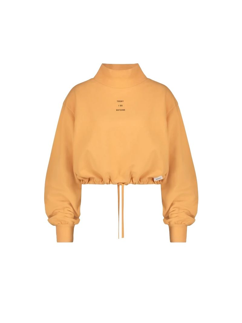 Oranje dames trui Penn&Ink - W21F972 17-90 orange blk
