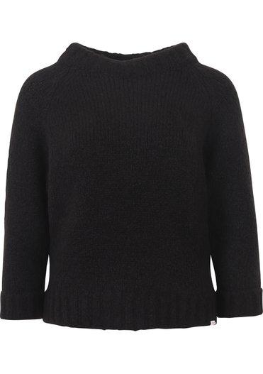 Zwarte damesa trui Penn&Ink - W21L140 black