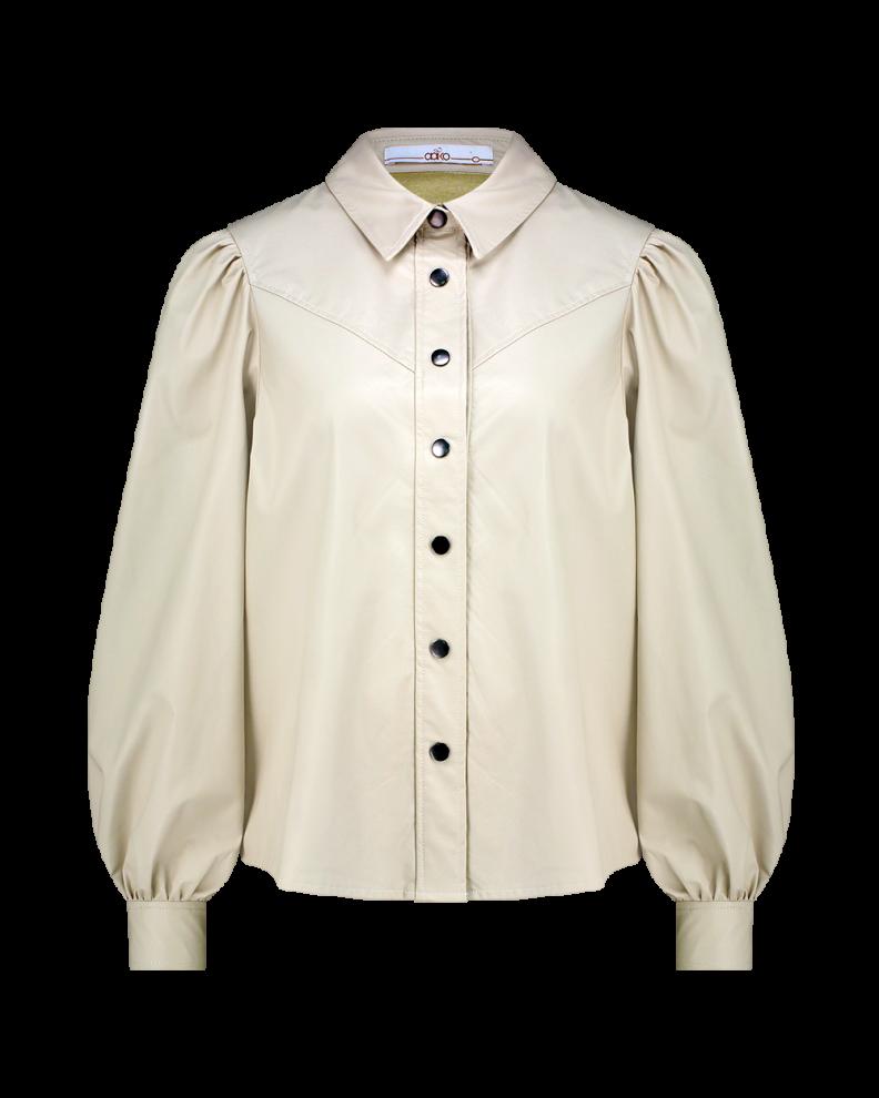 Beige dames blouse Aaiko - Taliana 130907 sand shel