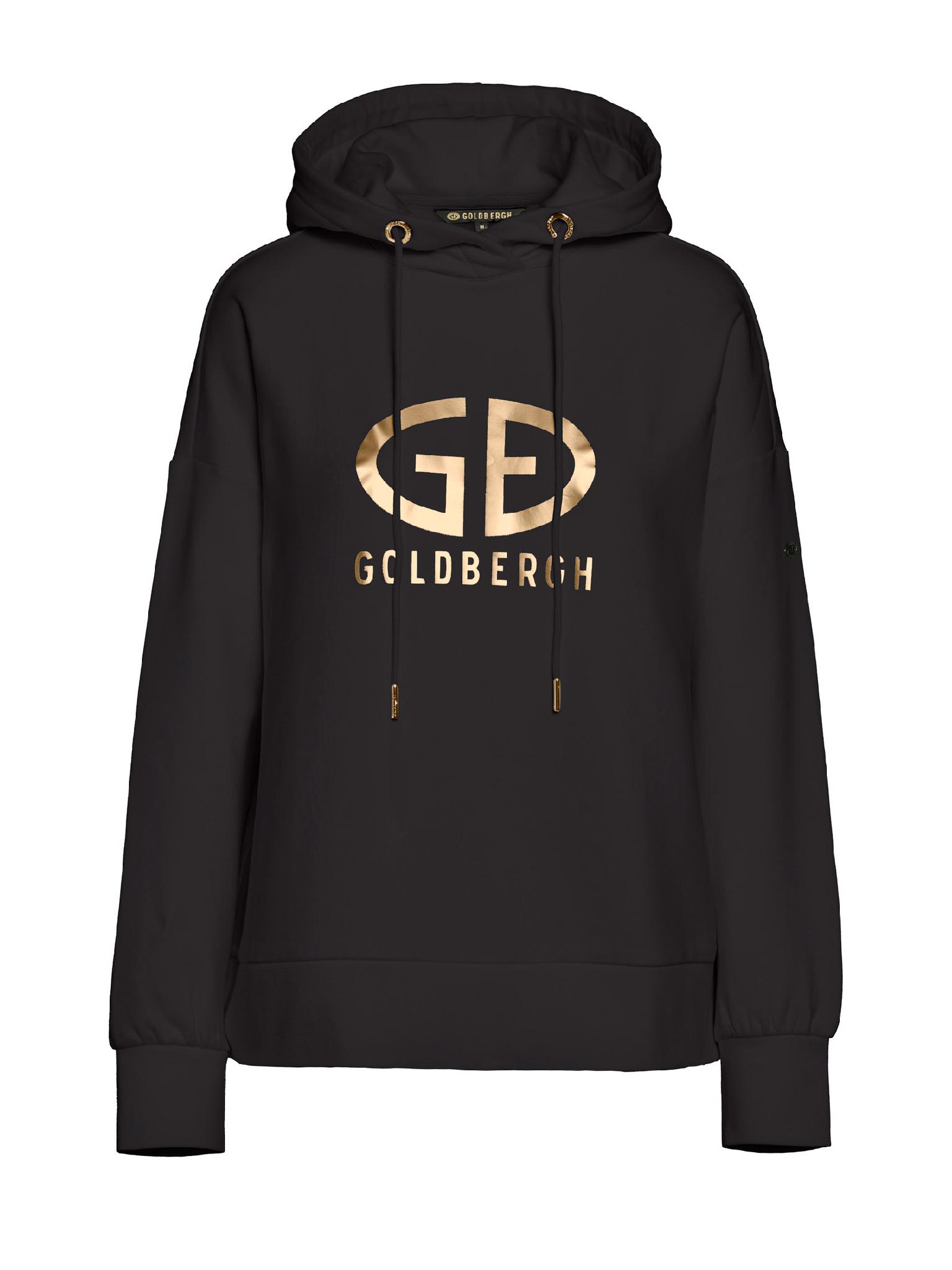 Zwarte dames trui Goldbergh - Harvard Hoodie