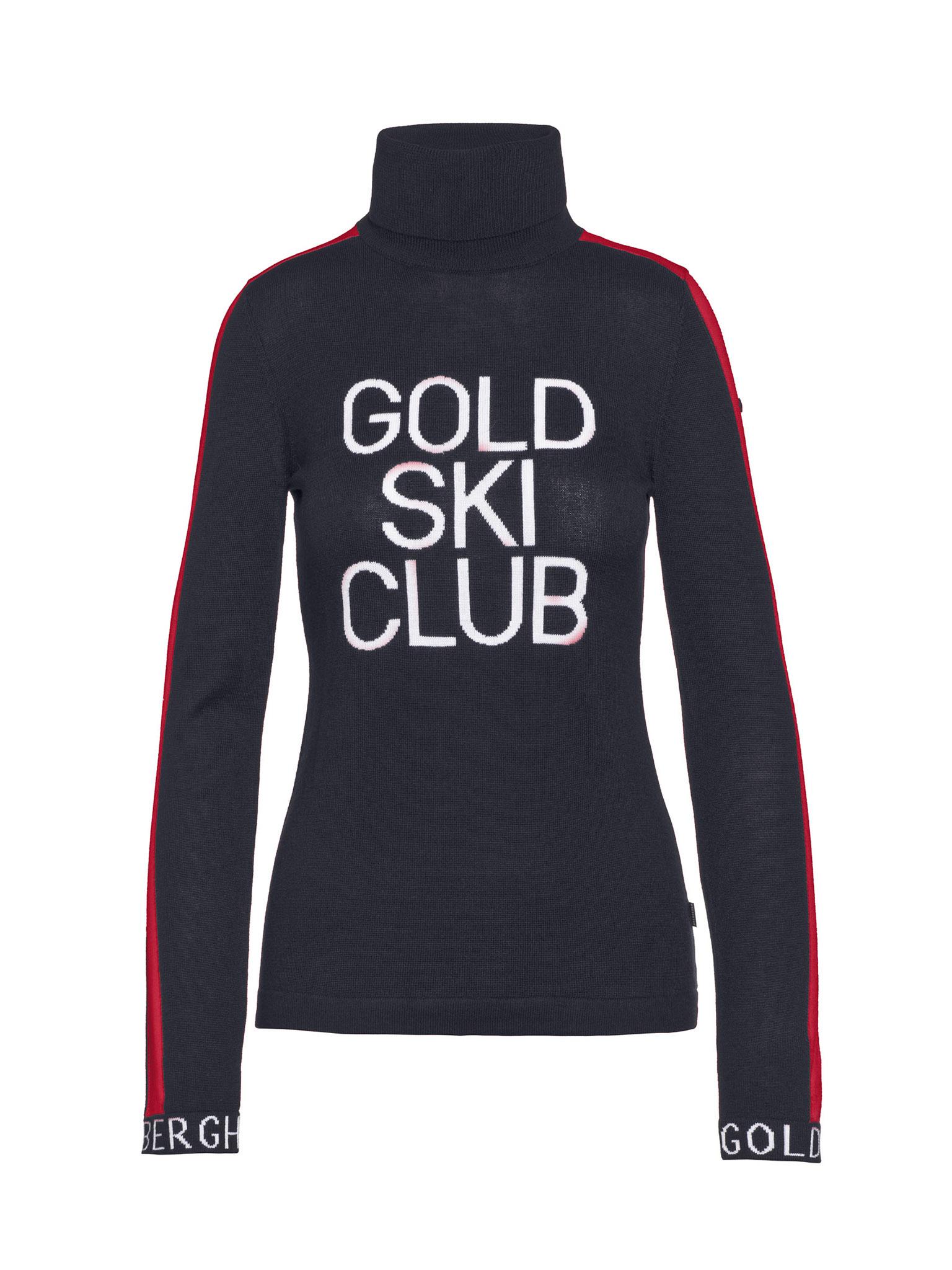 Donkerblauwe dames trui Goldbergh - Club Sweater