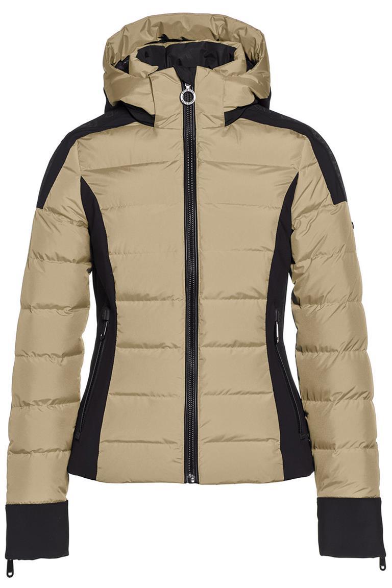 Beige dames skijas Goldbergh - Strong Jacket