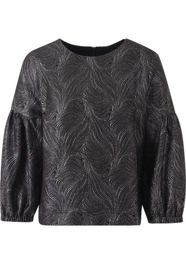 Zwarte dames top Summum - 2S2687-990 black