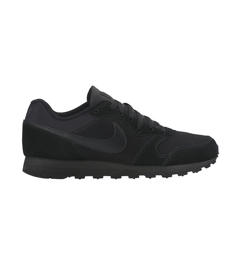 zwarte heren sneaker Nike MD Runner 2 002