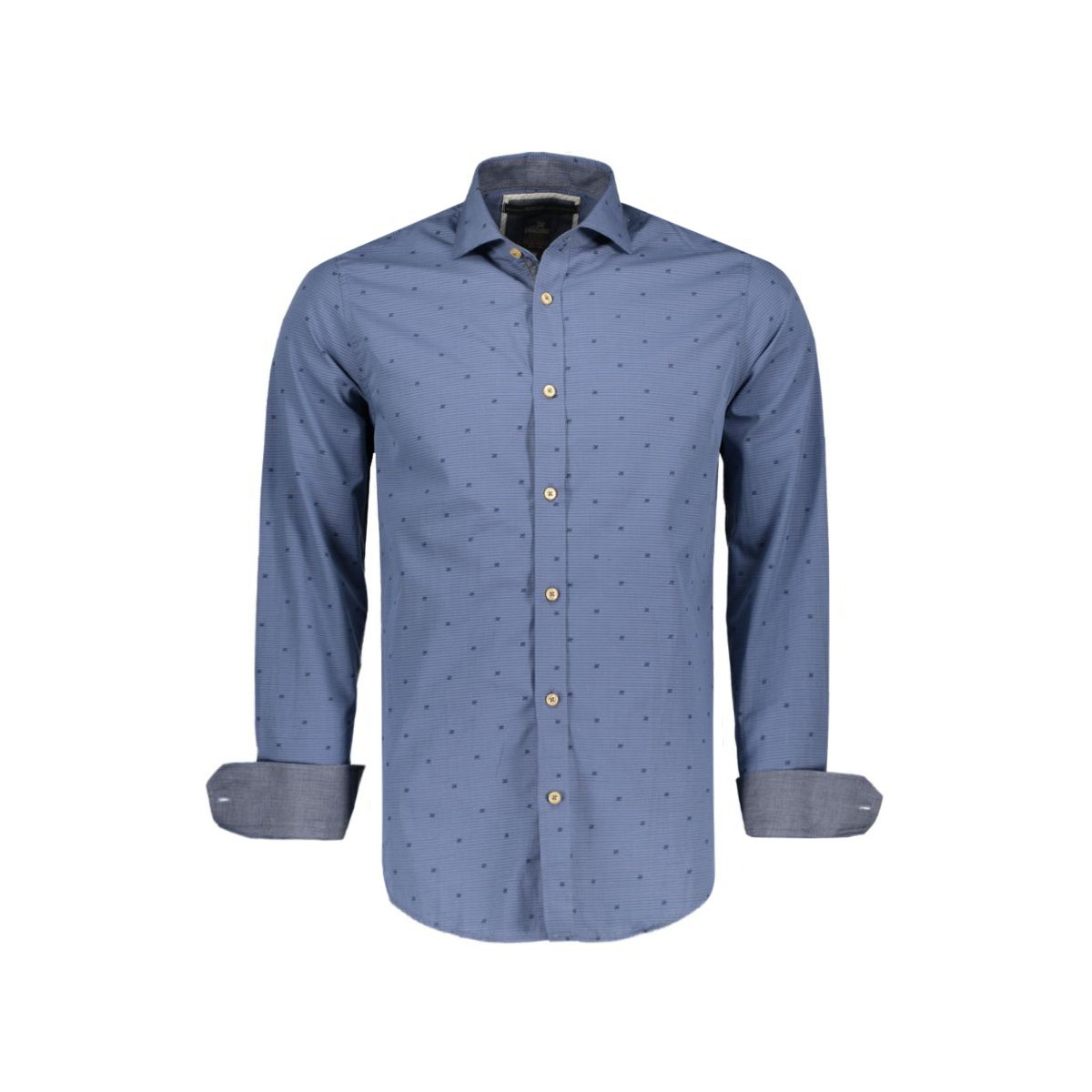 blauw heren overhemd Vangaurd VSI67424-5879