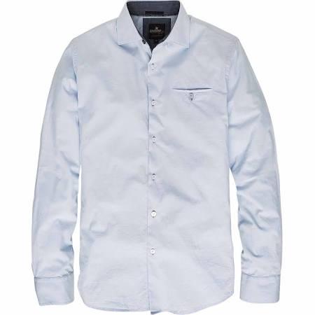 Blauw heren overhemd Vanguard VSI65404-5279