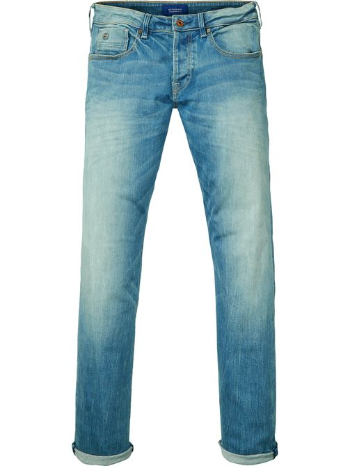Blauwe herenbroek Scotch & Soda 100726