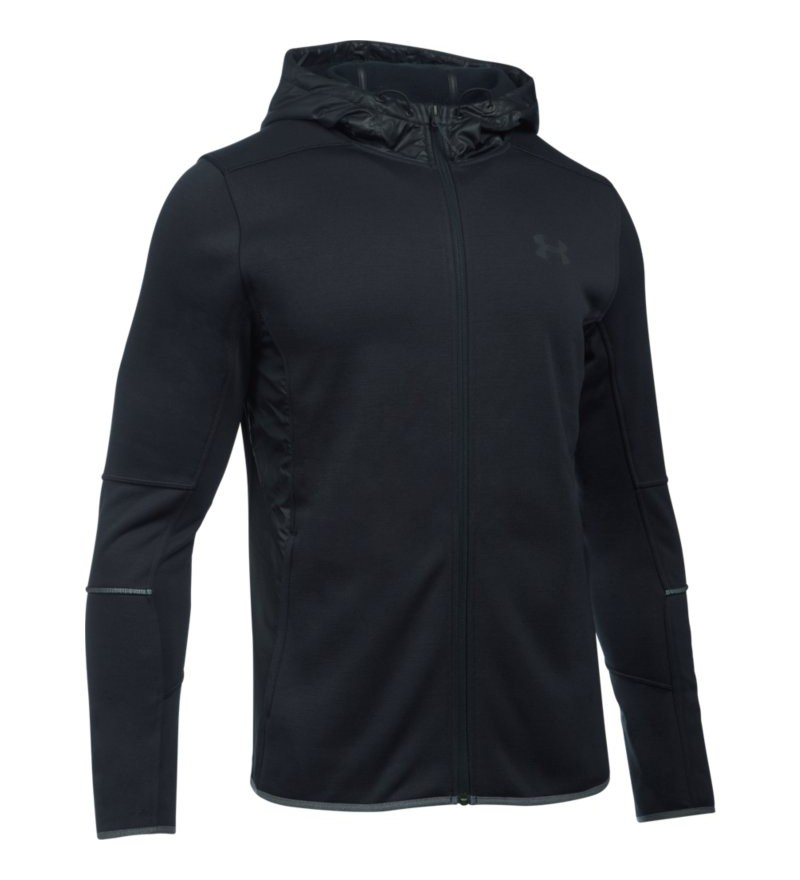 zwarte heren sweater Under Armour Swacket FZ Hoodie