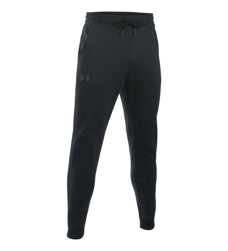 zwarte heren joggingbroek Under Armour Storm rival cotton jogger