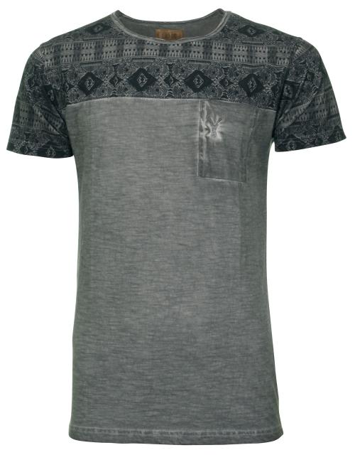 Grijs heren tshirt Pearly King Link grey