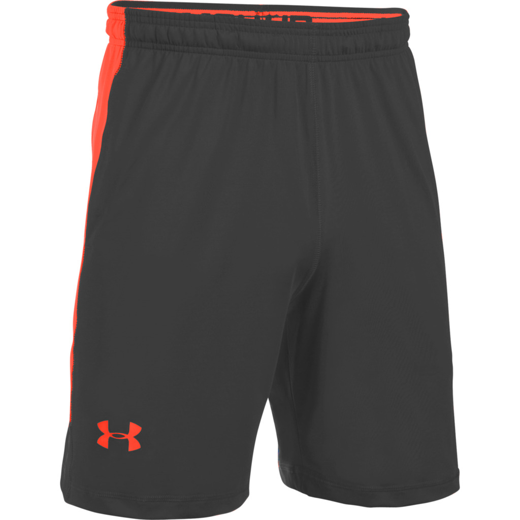 Grijs/Oranje Short Raid 8 Under Armour 1257825-011