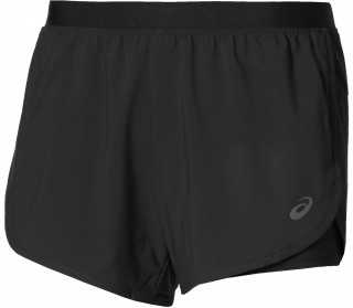 Zwart 2-N-1 5.5IN Running Short Asics 141228
