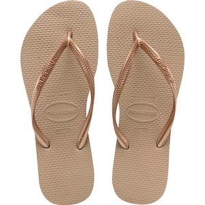 Rose dames slippers Havaianas - 4000030 Rose Gold