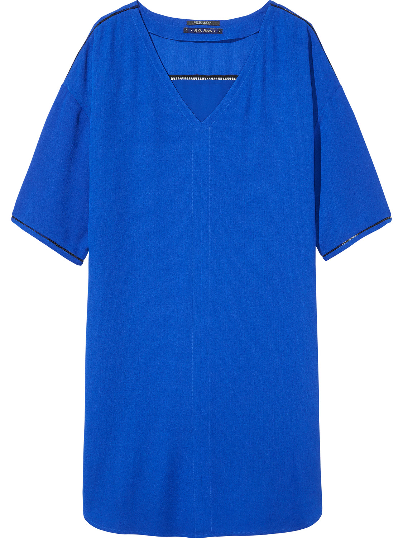 Blauwe dames tuniek jurk Maison Scotch - 102260