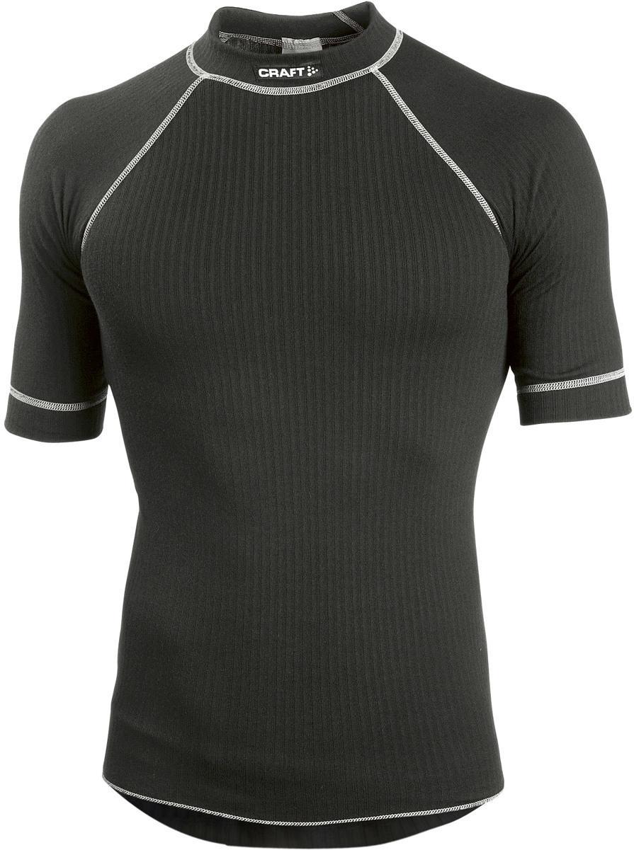 zwarte kort mouw thermoshirt Craft 194004-29999