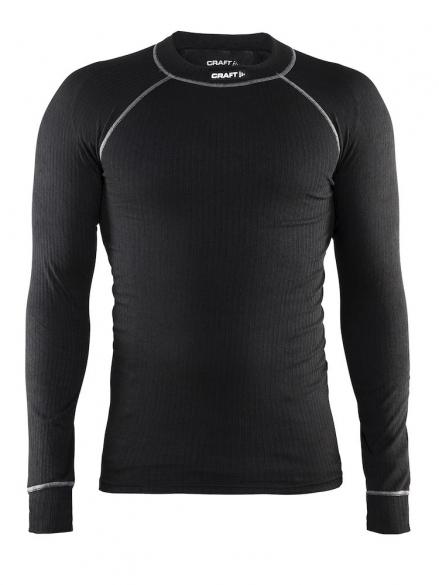 zwart heren lange mouw thermoshirt Craft 194004 2999