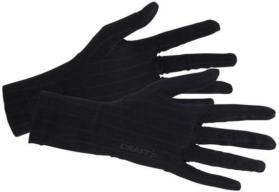 Zwarte thermohandschoen Craft 1