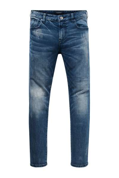 Blauwe heren denim Jeans Scotch & Soda  - 144792 - 2221 L32