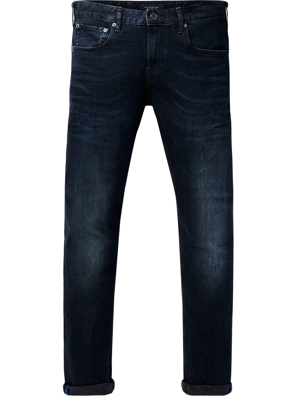Blauwe  heren spijkerbroek Scotch & Soda - 133355 -2151 L34