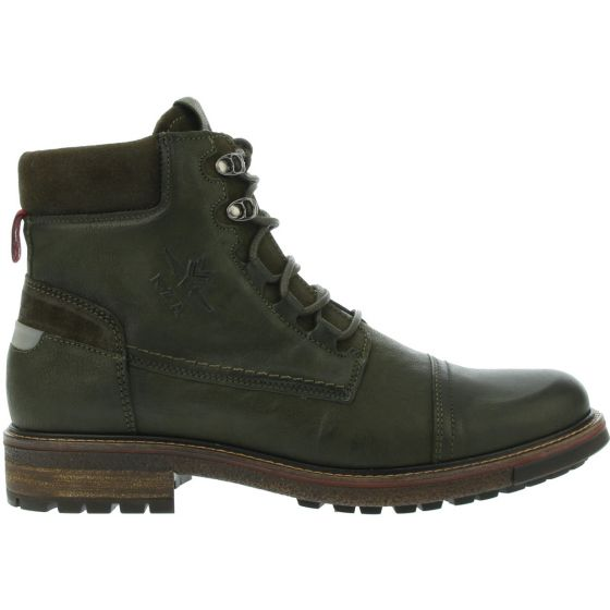 Groene heren schoenen New Zealand Auckland - Hawawea high - 9600 olive