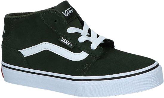 Groene kinder schoenen Vans - chapman mid jr - va38j4ug1