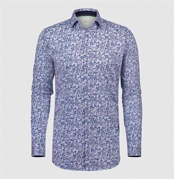 Blauwe overhemd heren Blue Industry  - 1161.82 - blue