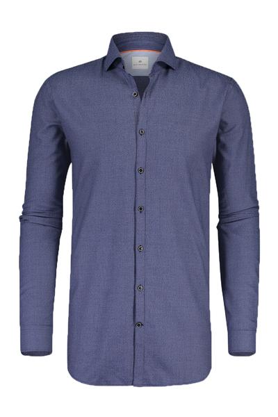 Blauwe heren overhemd Blue Industry - 1160.82 - navy