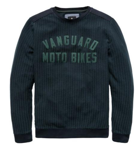 Groene heren sweater Vanguard - VSW187132 - 5287