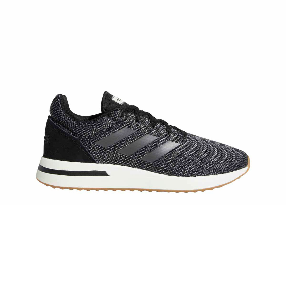 Grijze heren Adidas B96558 Run70s CBLACK/GREFIV/CA